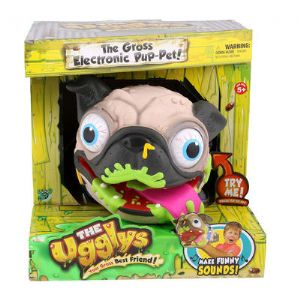 Ugglys - The Gross Electronic Pup-Pet - Light Brown